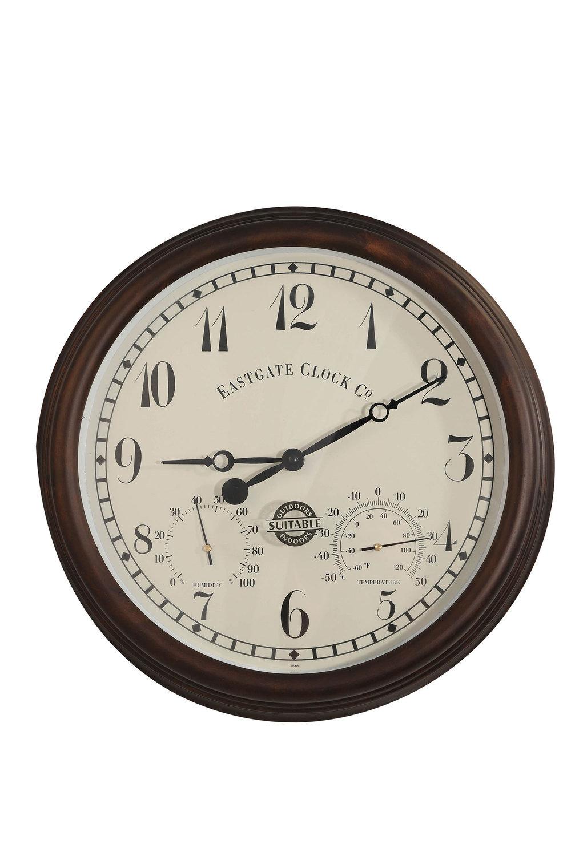 Eastgate Indoor Outdoor Clock Online | Shop EziBuy Home