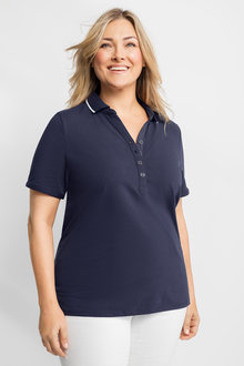 Plus Size - Sara Polo Shirt