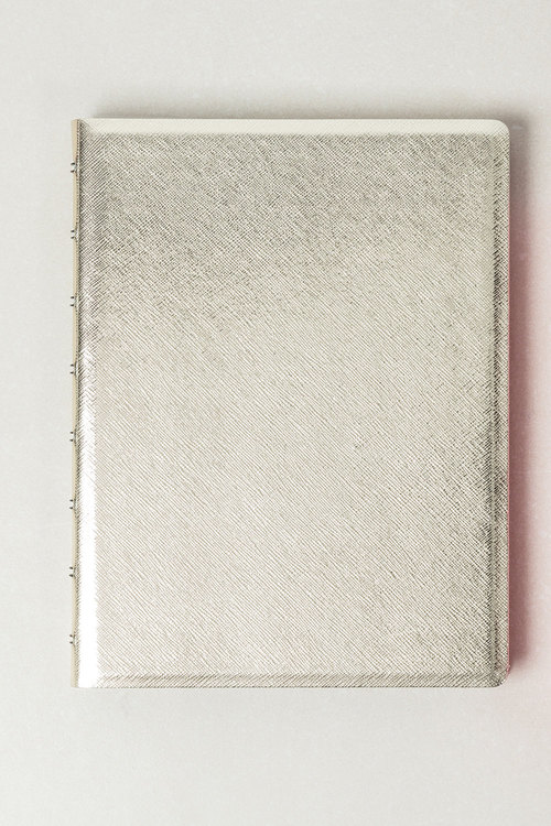 Saffiano A5 Refillable Notebook