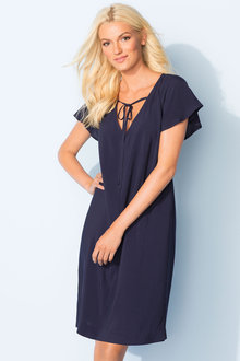 Emerge Flutter Sleeve Dress