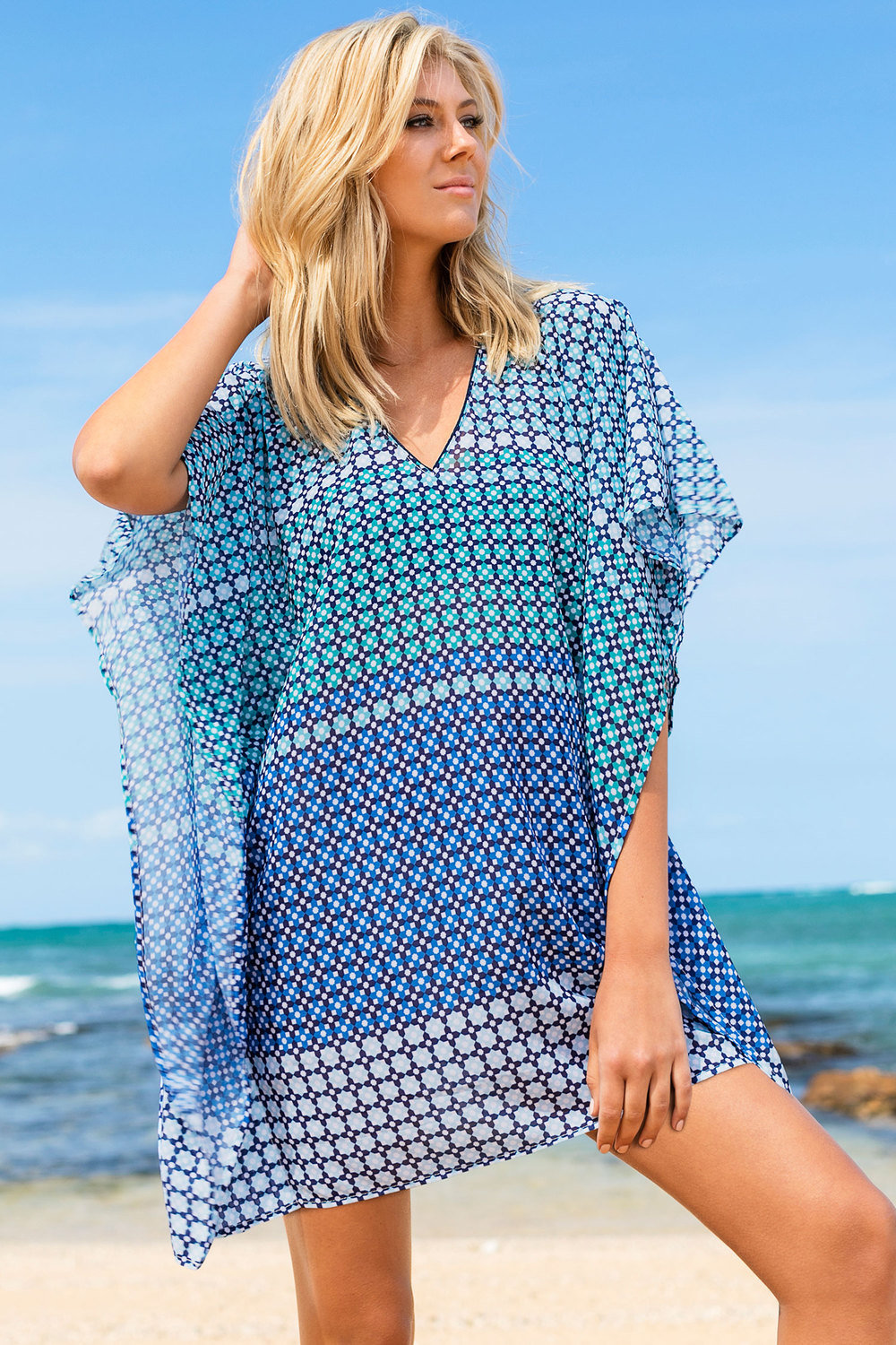 1ac733bf33 Capture Swimwear Kaftan Online | Shop EziBuy