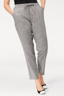 Heine Pleat Front Pull-On Pant