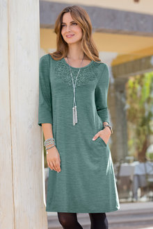 Together Jersey Dress with Pockets