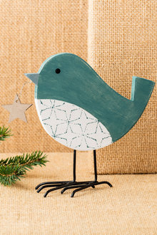 Christmas Bird with Star Decoration