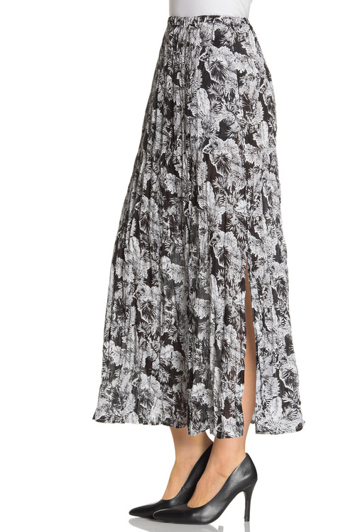 Capture Crushed Cotton Skirt