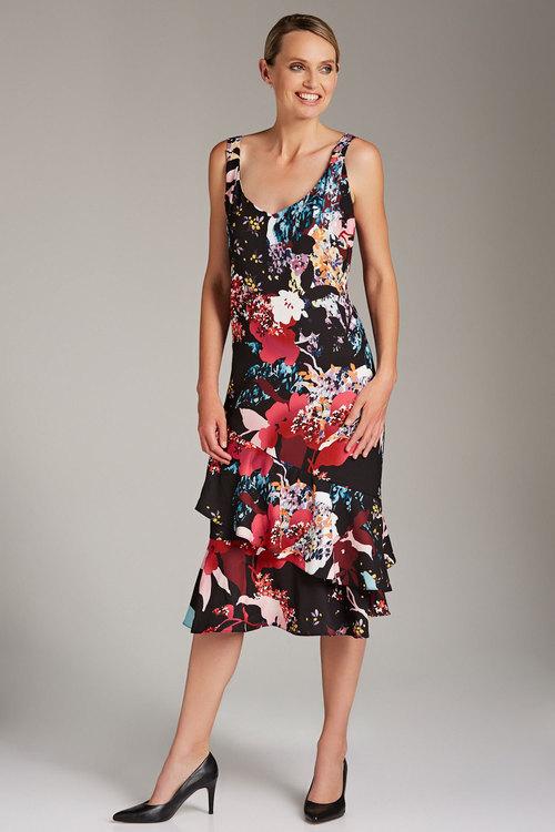 Grace Hill Ruffle Slip Dress