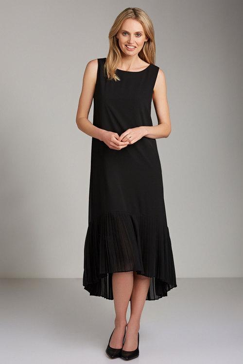 Grace Hill Pleat Hem Dress