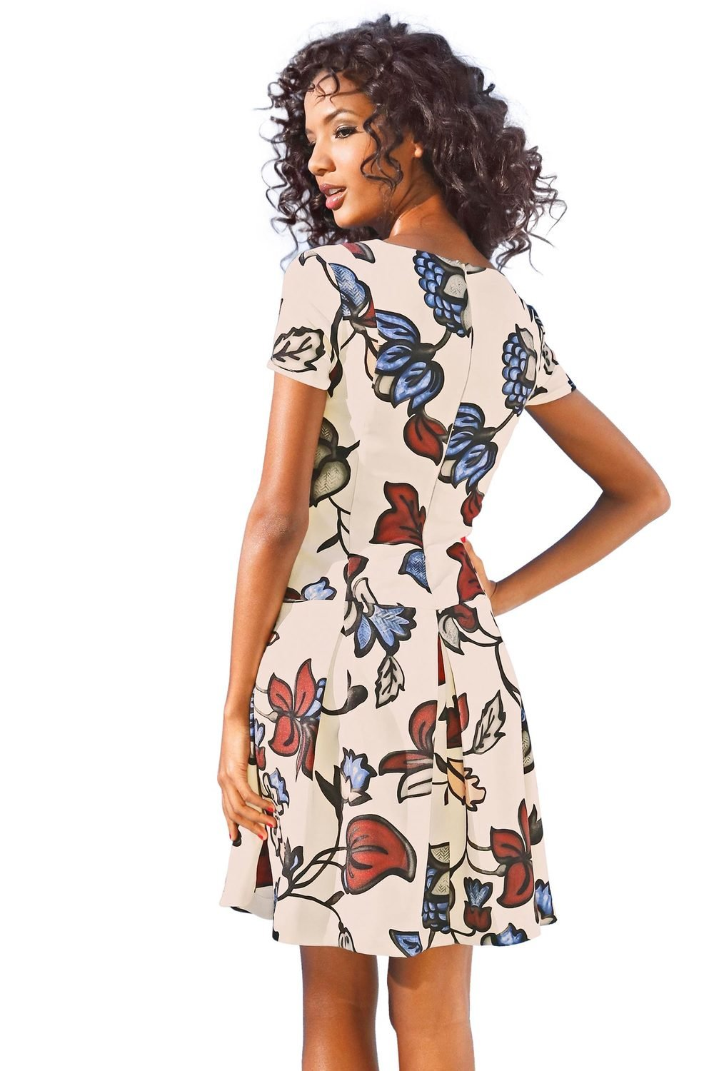 5150c11a0621 Heine Printed Flared Dress Online