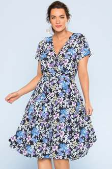 Plus Size - Sara Ruffle Dress