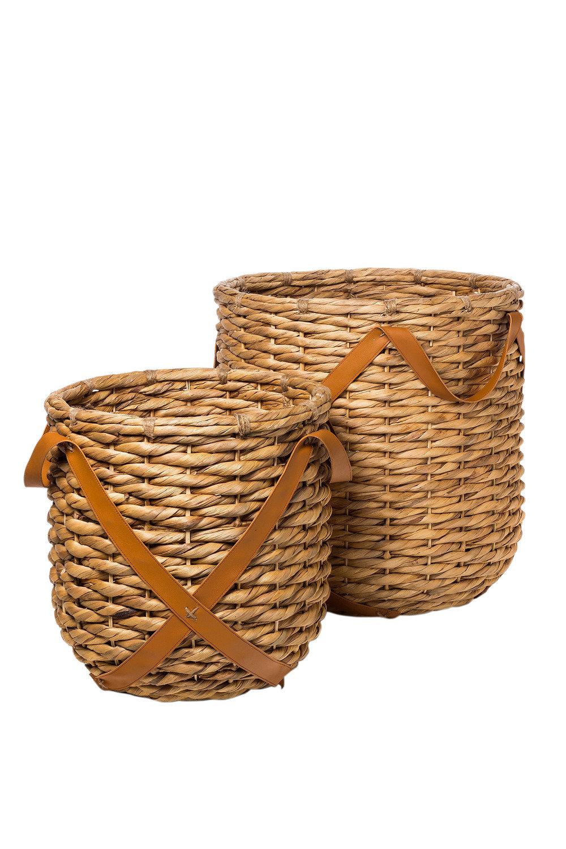 gadot woven baskets set of 2 online shop ezibuy home