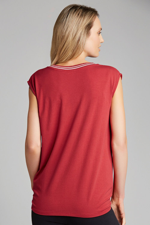 Grace Hill Tie Front Top