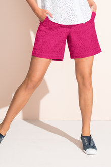 Emerge Broderie Short
