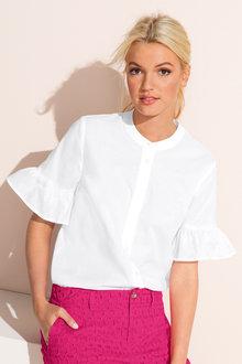 Emerge Ruffle Sleeve Shirt