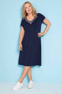 Plus Size - Sara Knit Dress
