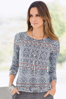 Together Printed Top
