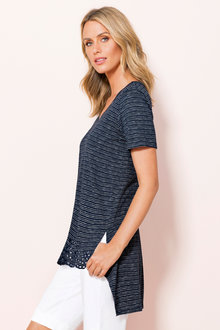Capture Hem Detail Tunic