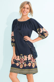 Capture Off the Shoulder Dress