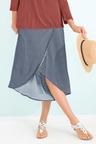 Capture Faux Wrap Skirt