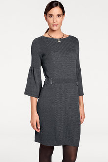 Heine Bell Sleeve Knit Dress - 184359