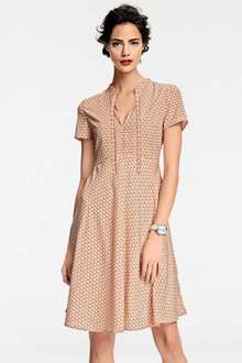 Heine Short Sleeve Printed Dress