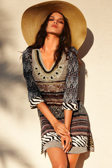 Heine Printed Tunic Dress