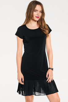 Heine Pleat Hem Dress