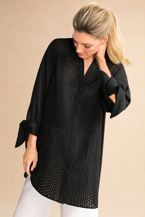 Grace Hill Broderie Shirt