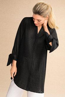 Grace Hill Broderie Shirt - 184427