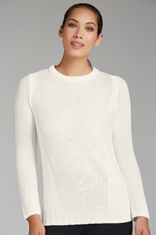 Emerge Pointelle Jumper