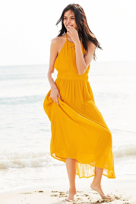 Next Pleated Maxi Dress Online  ccbeb1105