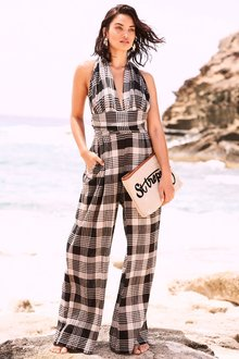 Next Check Jumpsuit - Petite
