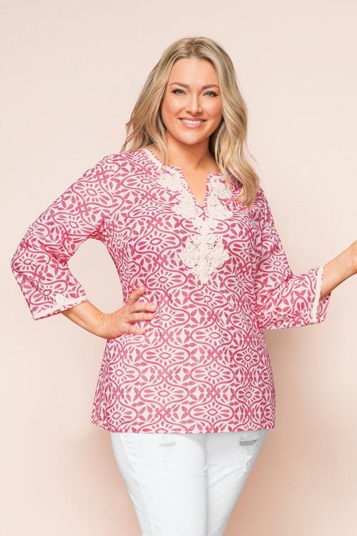 Plus Size - Sara Relaxed Tunic