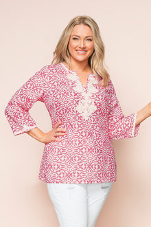Plus Size - Sara Relaxed Tunic