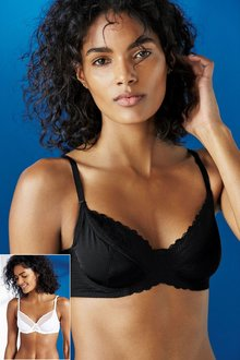 Next Non Pad Full Cup Bras Two Pack