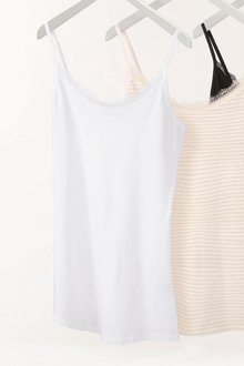 Next Cotton Lace Trim Vest