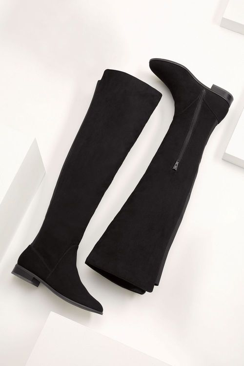 Next Flat Over The Knee Boots