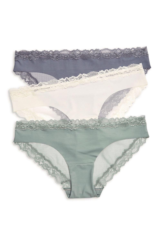 14155de94aa Next No VPL Lace Back Brazilian Briefs Three Pack Online