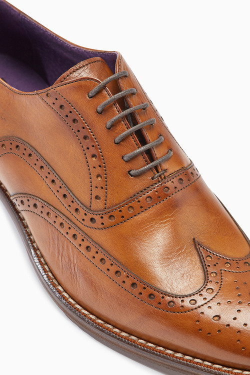 Next Signature Wing Cap Brogue