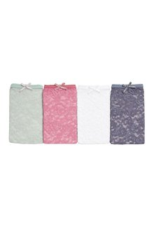 Next Lace Shorts Four Pack