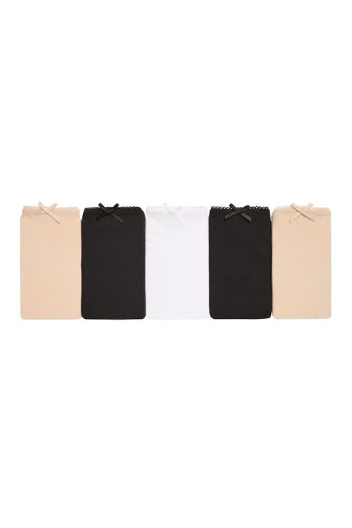Next Microfibre Bikini Briefs Five Pack