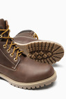 Next Leather Cleated Work Boot