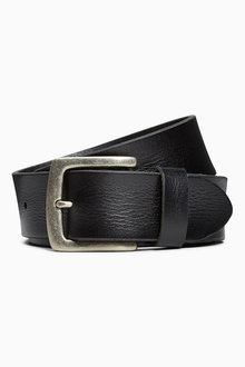 Next Creased Effect Leather Belt - 185283