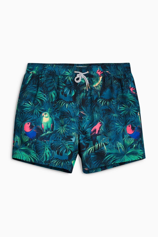 4f92830ef09 Next Parrot Print Swim Shorts Online