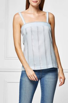 Next Metallic Striped Cami