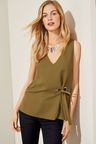 Next Sleeveless Eyelet Shell Top