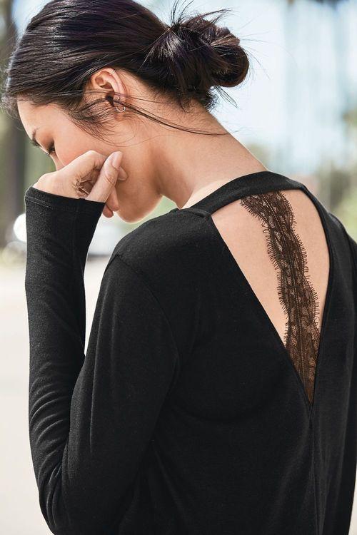 Next Lace Back Top