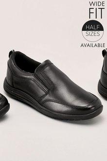 Next Loafers (Older Boys) Wide Fit - 185514