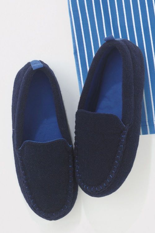 Next Felt Moccasin Slippers (Older Boys)