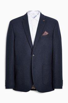 Next Hopsack Slim Fit Jacket