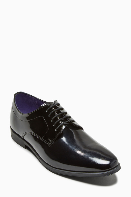 Next Patent Lace-Up Shoes (Older Boys)